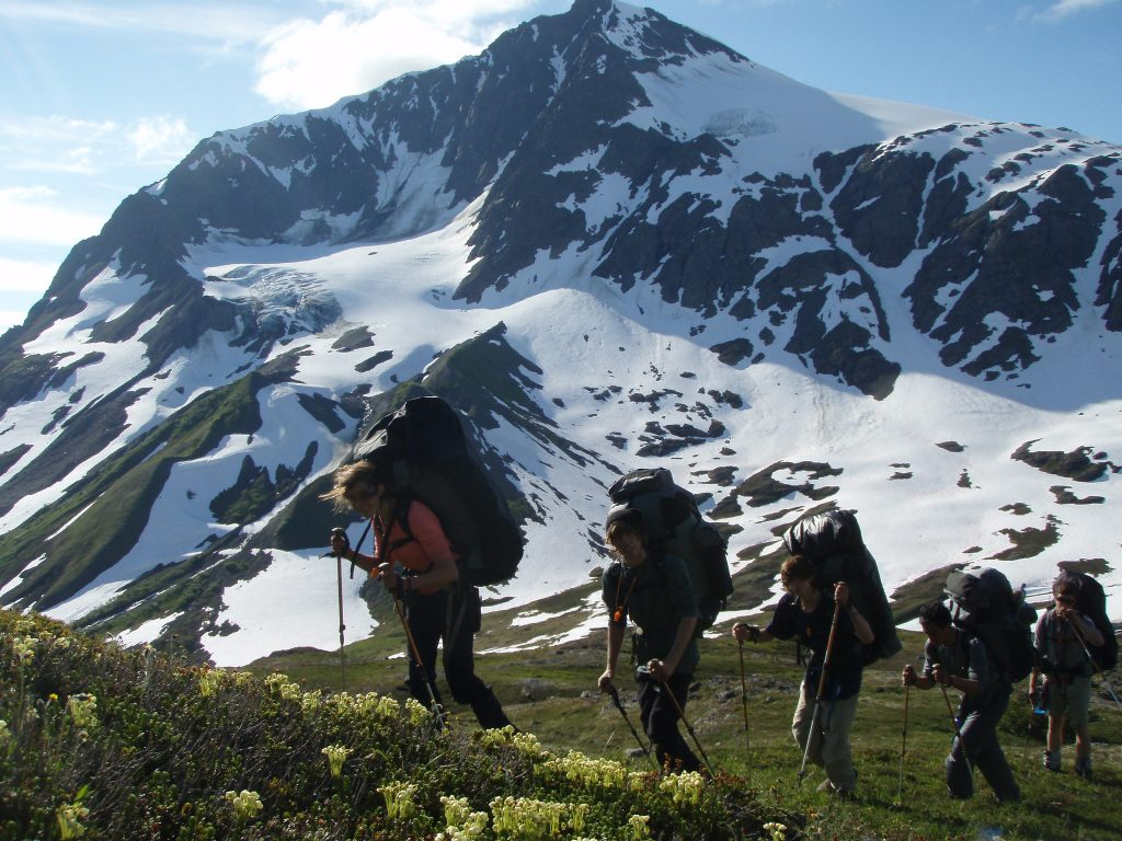 Backpacking with Outward Bound
