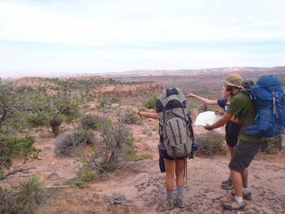Backpacking trips in California