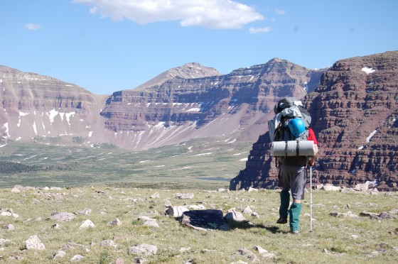 backpacking in Colorado
