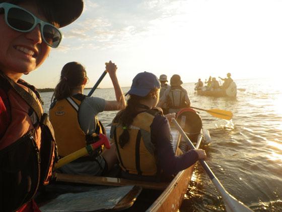 Florida canoeing