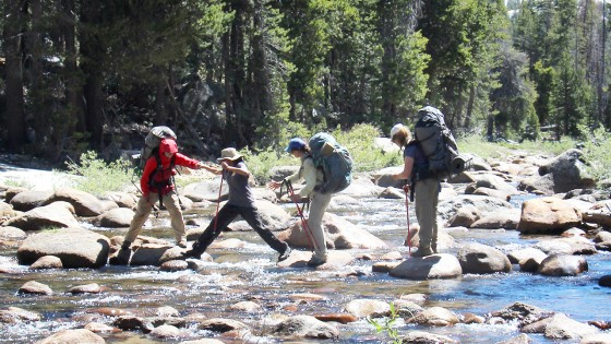 High Sierra Alpine Backpacking