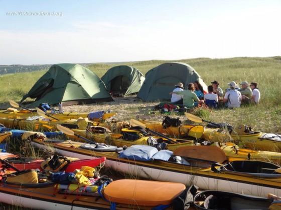 Camping trips in North Carolina