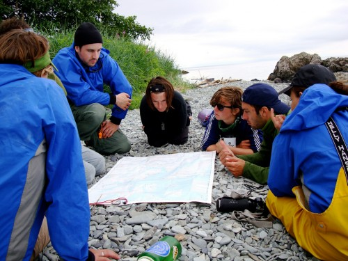 learn to navigate outdoor school