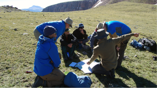 Backpacking trips with Outward Bound