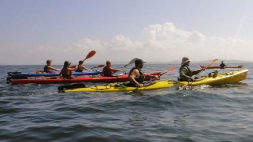 Outward Bound Gap Year Kayaking