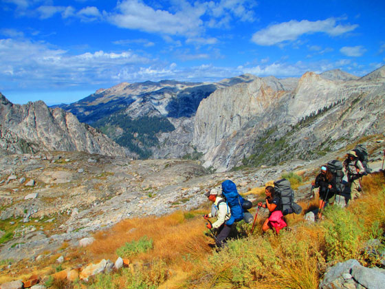 California backpacking program