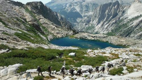 High Sierras Backpacking trip