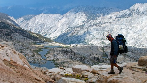 Backpacking in California with Outward Bound