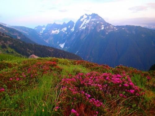 North Cascades mountain range