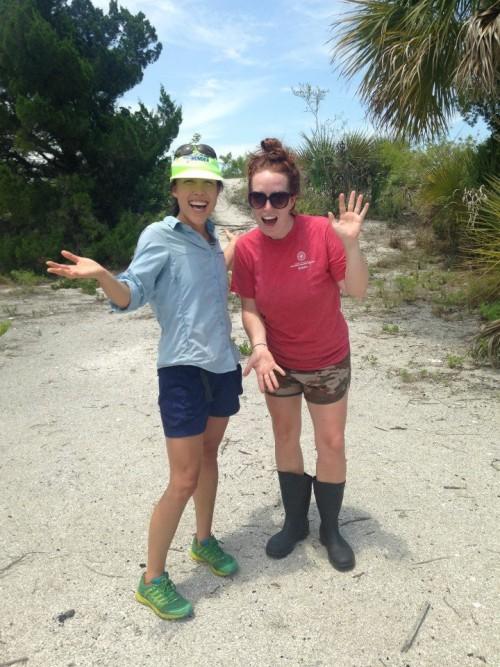 outdoor education instructors