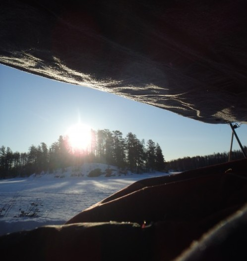 winter camping with Outward Bound
