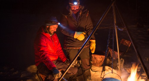 winter camping recipe