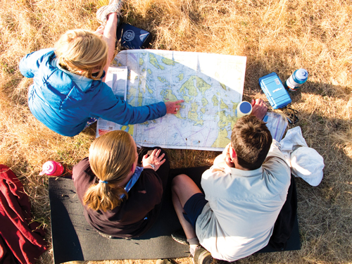 outdoor school learn to navigate