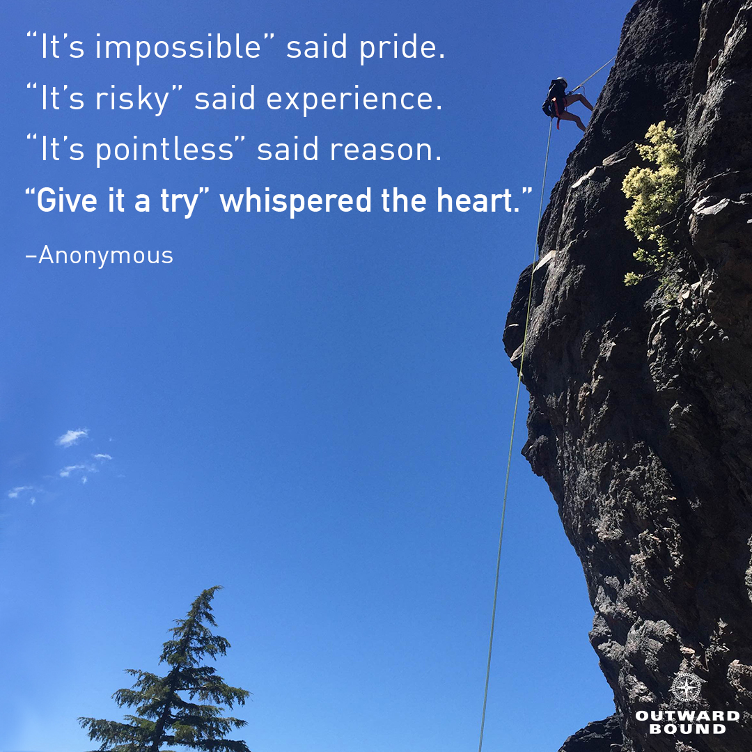 20 Inspirational Quotes from the Outward Bound Readings Book ...