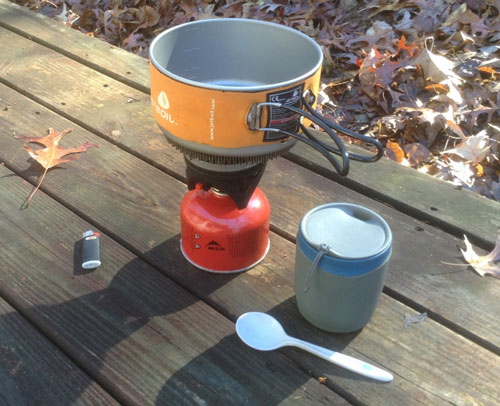 cooking on camping trips