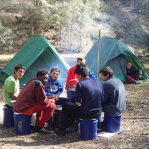 Outward Bound Campsite