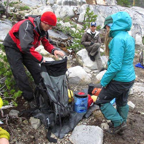 Outward Bound Course Packing