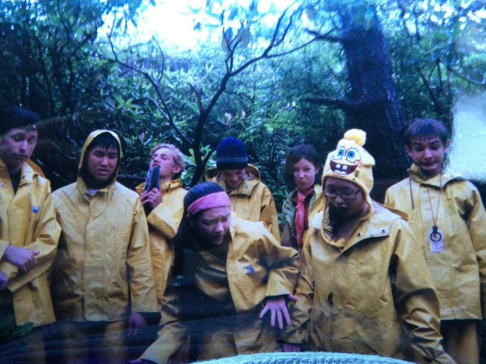 Outward Bound crew on expedition
