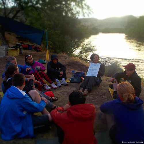 Outward Bound Teaching Moment