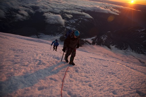 Summiting Rainier