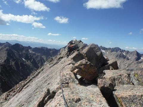 Colorado Rocky Mountain Climbing