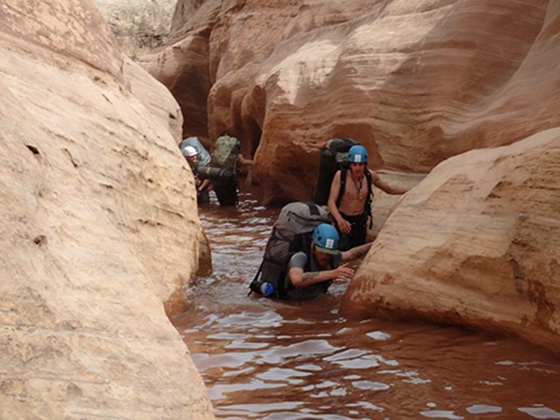 Outward Bound canyoneering semester