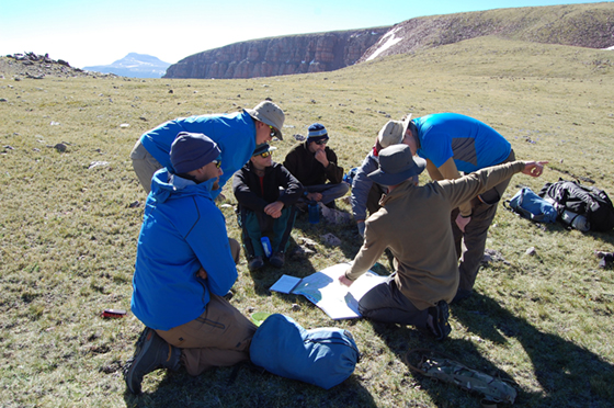 Backpacking in Colorado with Outward Bound