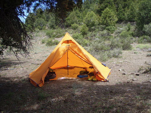camping trips shelter
