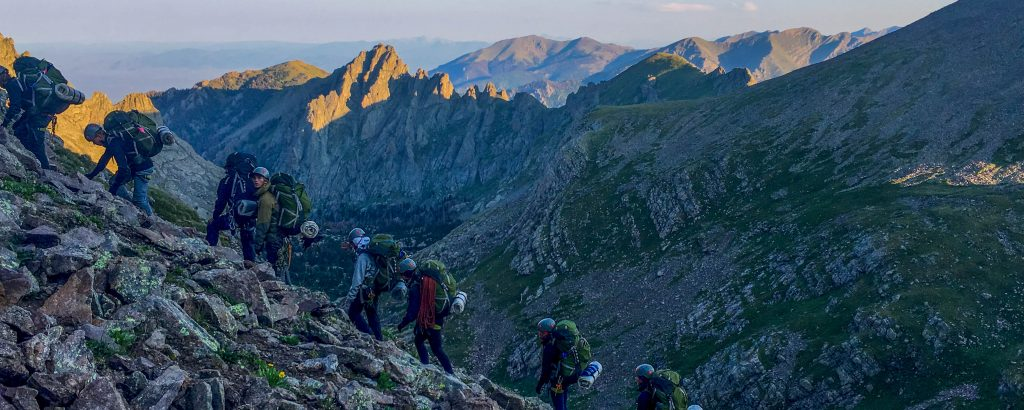 Photo taken on a Sangre de Cristo Alpine Backpacking expedition by Jack Klim.