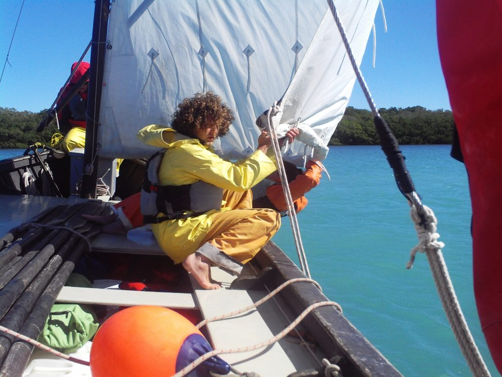Photo taken on a Florida Keys to Costa Rica Leadership Semester expedition.