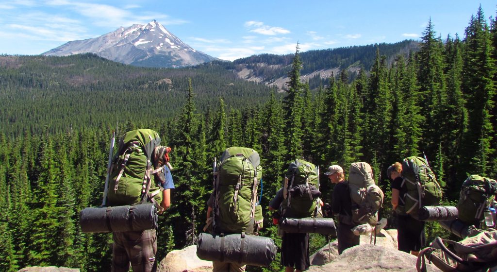 Photo taken on a Oregon Rafting & Mountaineering expedition.