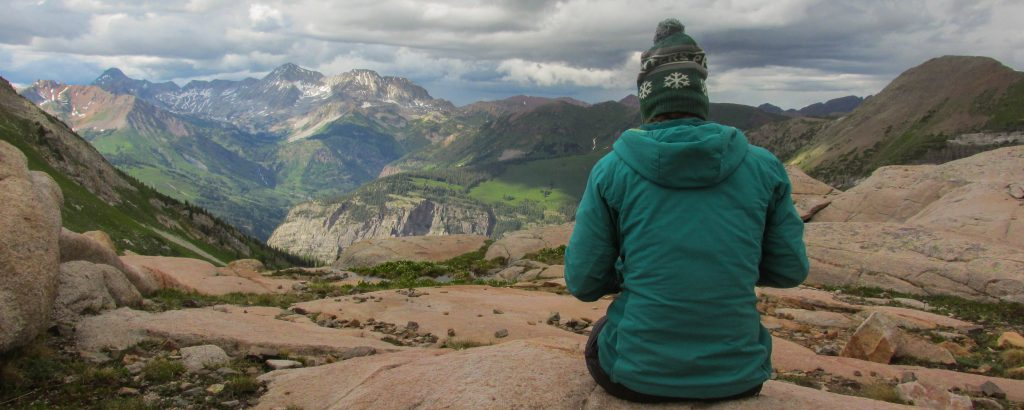 Photo taken on a Colorado Rockies Alpine Backpacking for Adults course by Brandon Daun.