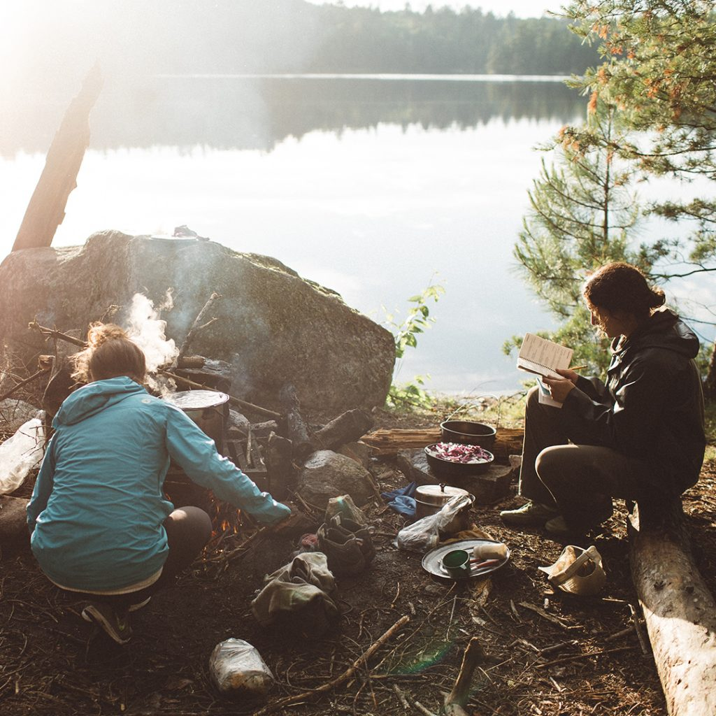 Photo taken on an Intercept Boundary Waters Canoeing expedition by Mikaela Hamilton.