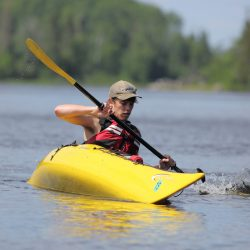 Photo taken on a Lake Superior Sea Kayaking & Backpacking for Adults by Larry Mishkar.