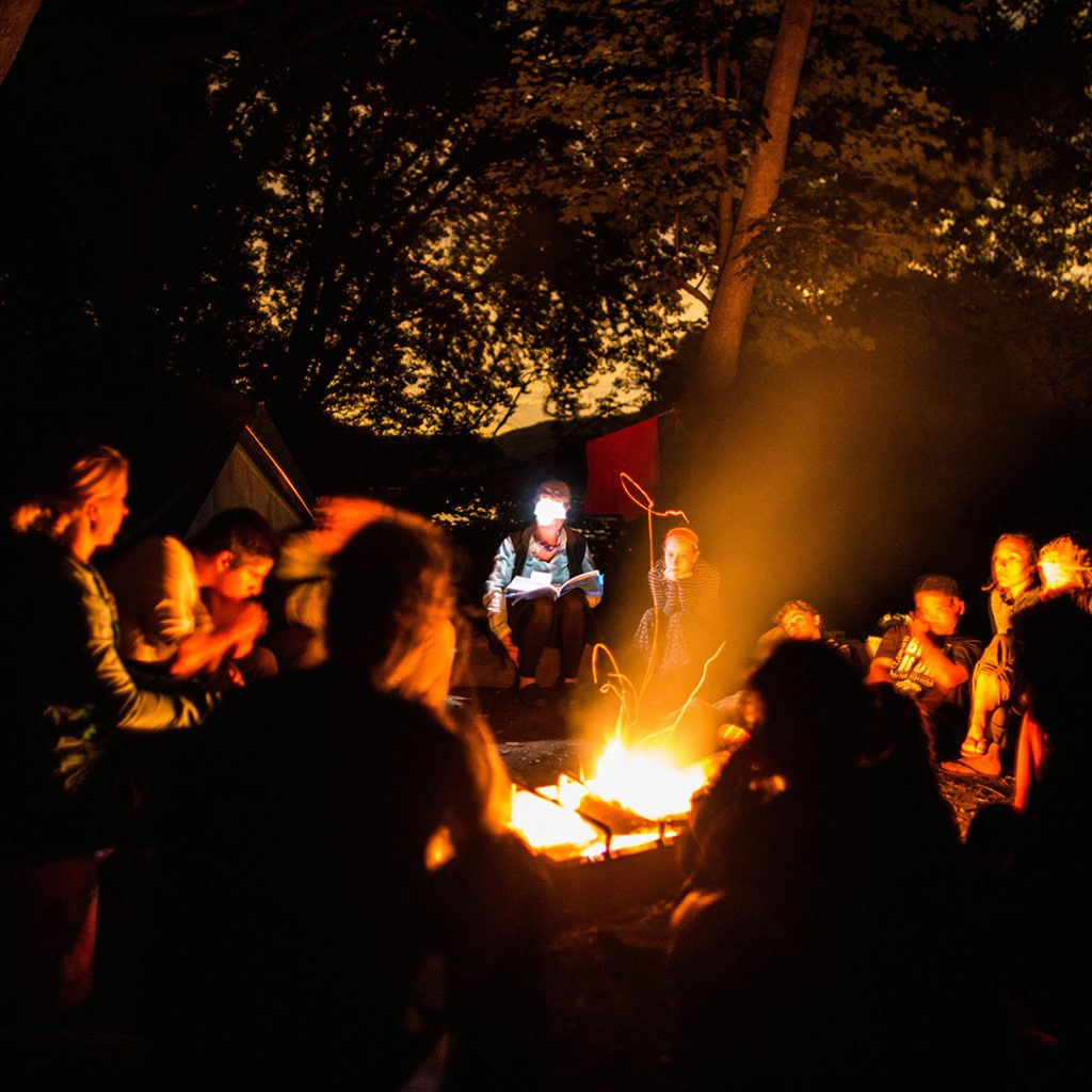 Outward Bound Campfire