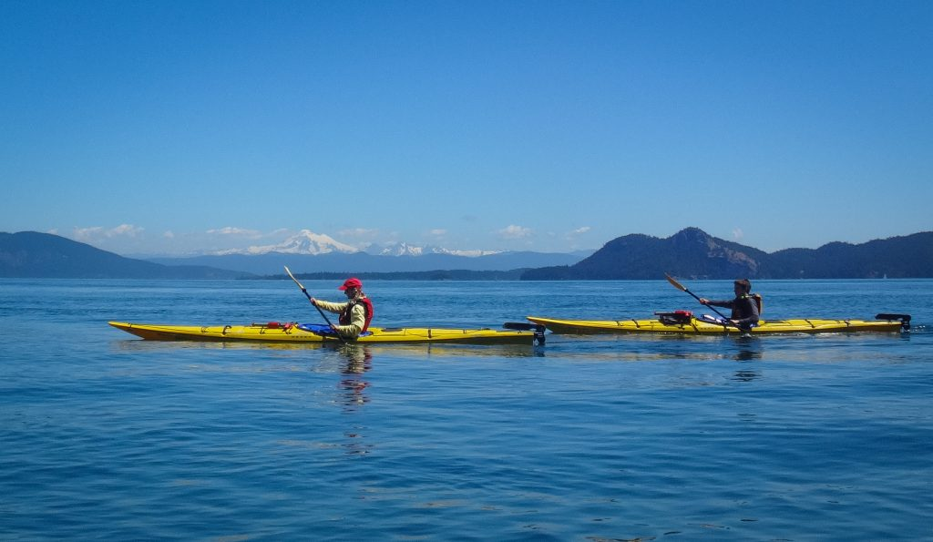 Photo taken on a San Juan Islands Sea Kayaking for Adults course by Luke O'Neill.