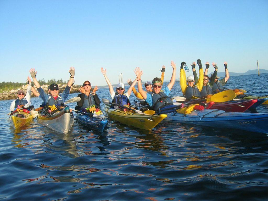 Washington Sea Kayaking & Mountaineering. Photo taken by Luke O'Neill.