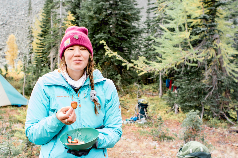 Food on an Outward Bound course
