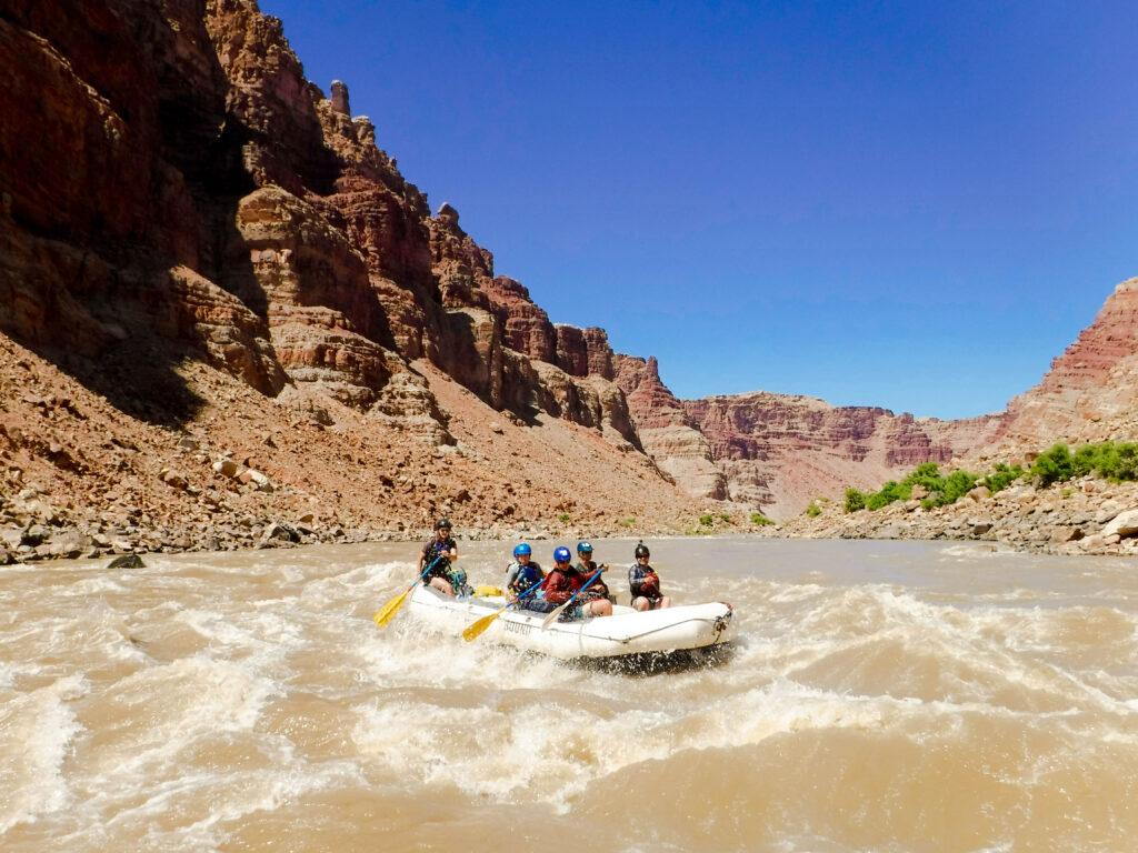 summer break rafting