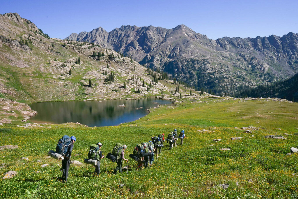 backpacking outdoor expedition