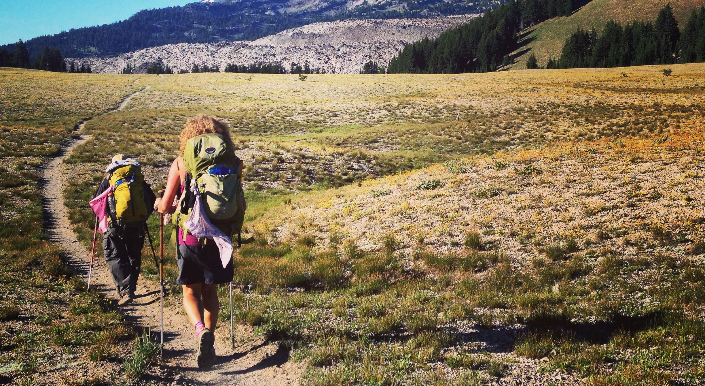 backpack45 on hiking the trail pacific crest trail - 1112×695