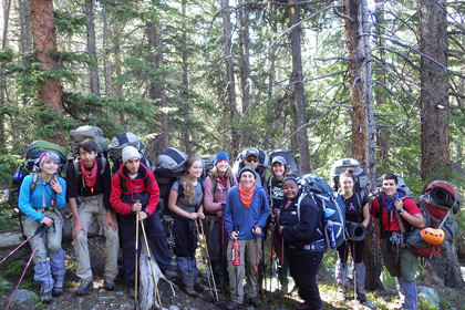 Outward Bound Grieving Teens Courses