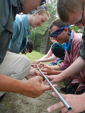 experiential learning and team building programs