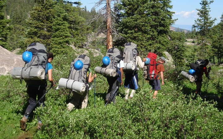 alpine backpacking for educators