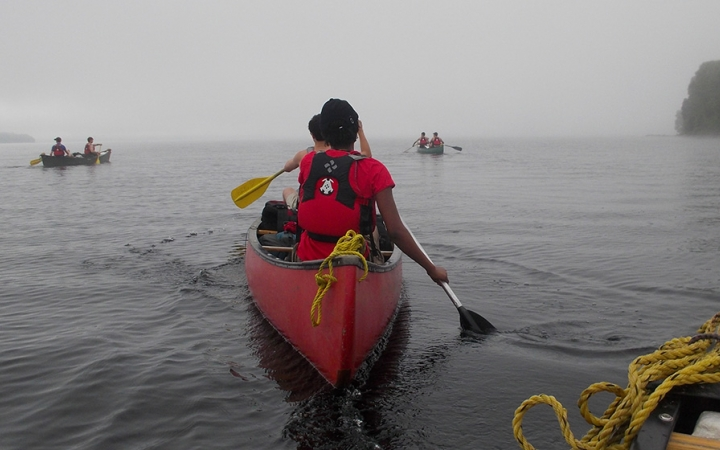 canoeing wilderness program