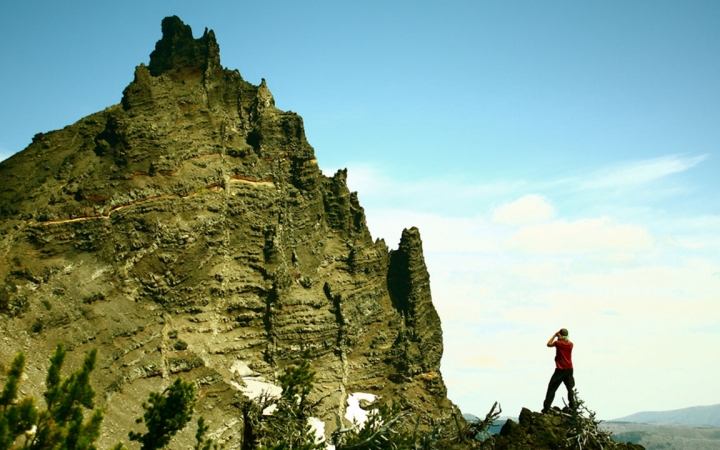 mountaineering in Oregon