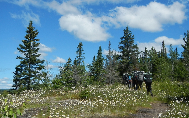 guided backpacking trips in Boundary Waters