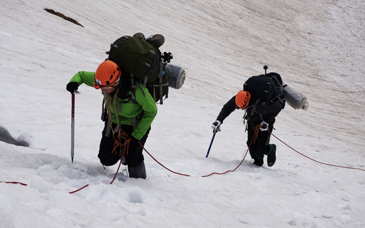 mountaineering class for teens