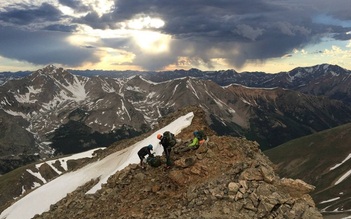 teens learn mountaineering skills in colorado