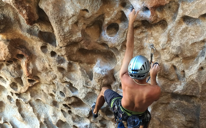 learn to rock climb in ecuador